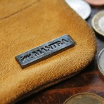 MANTRA Coin Wallet - Sand Brown