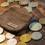 MANTRA Coin Wallet - Brown