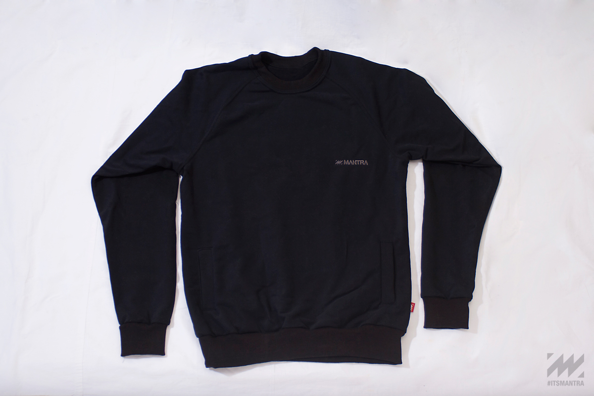 MANTRA EveryDay Sweater - BLACK