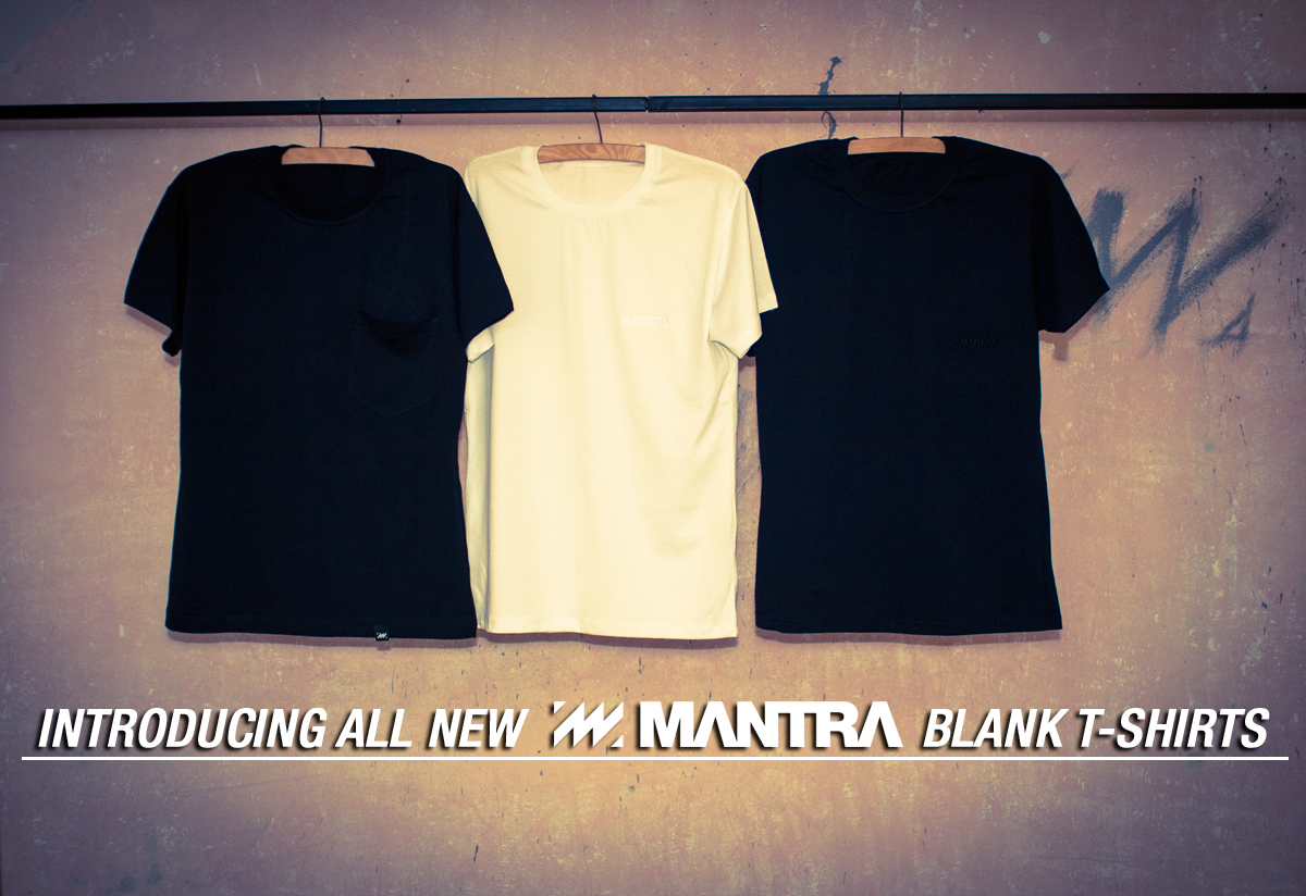 MANTRA Blank T-Shirt