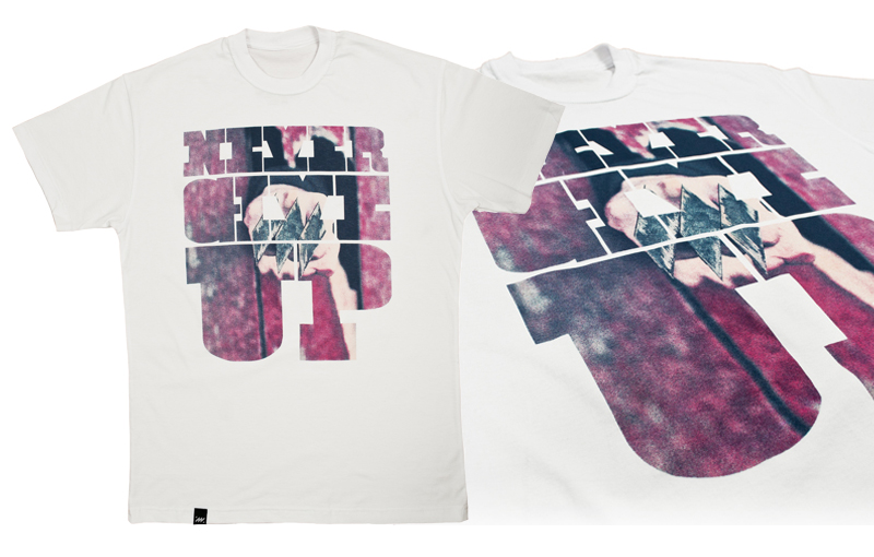 2011 MANTRA Never Give Up T-Shirt