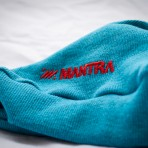 MANTRA Ribbed Beanie Blue detail