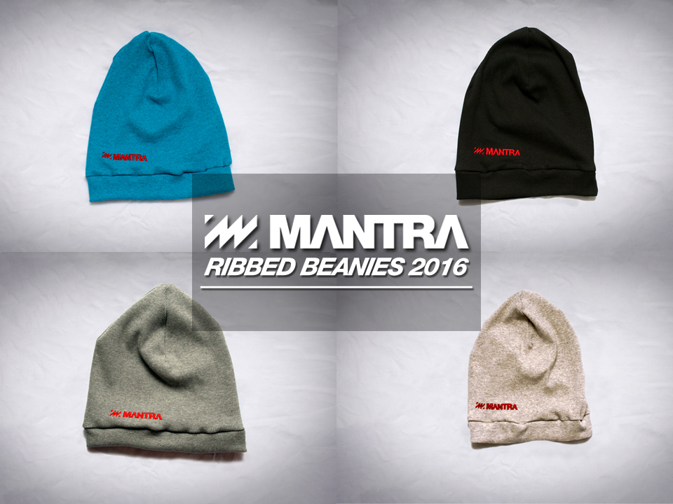 MANTRA Ribbed Beanies 2016