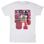 MANTRA Never.Give.Up Tee | White