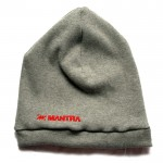 MANTRA Ribbed Beanie | Dark Gray