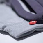 MANTRA Split GRAY Hoodie - Pocket