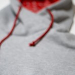 MANTRA Split GRAY Hoodie - Embroidery