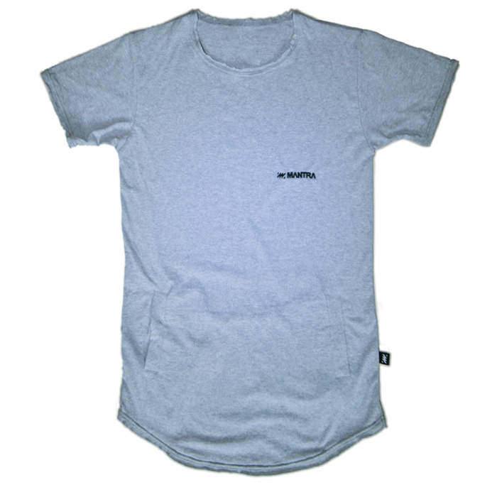 MANTRA FIGURE T-SHIRT | Gray
