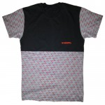 MANTRA Linear  Tee  in Gray