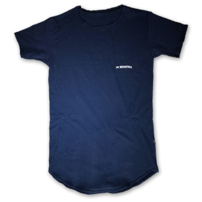 MANTRA FIGURE T-SHIRT | Blue