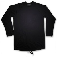 MANTRA Longsleeve in ALL BLACK