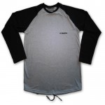 MANTRA Longsleeve in Gray Black