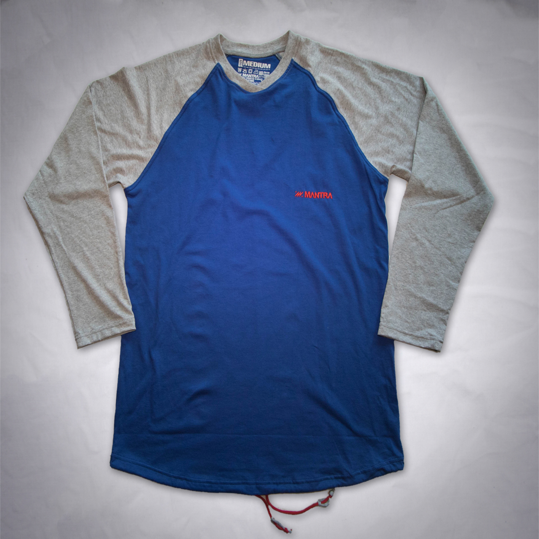MANTRA Long Sleeve Blue Gray