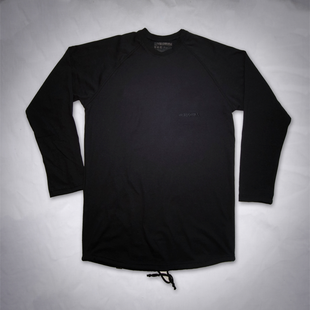 MANTRA Long Sleeve All Black