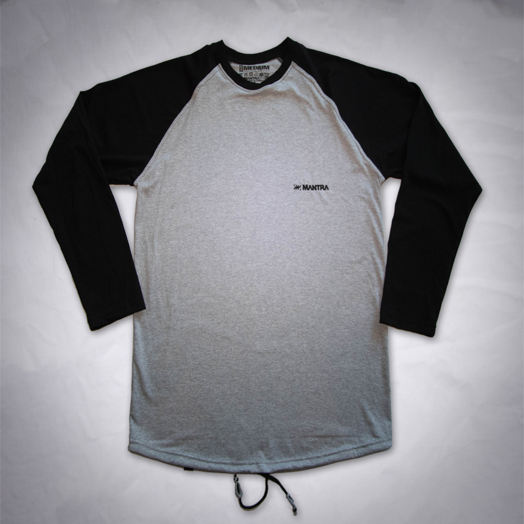 MANTRA Long Sleeve Gray Black