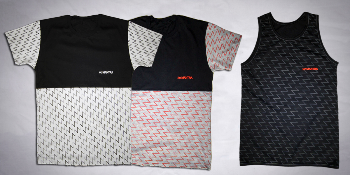 MANTRA Linear T-shirts