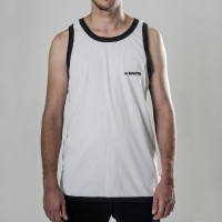 MANTRA Split TankTop | White