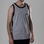 MANTRA Split TankTop | Grey