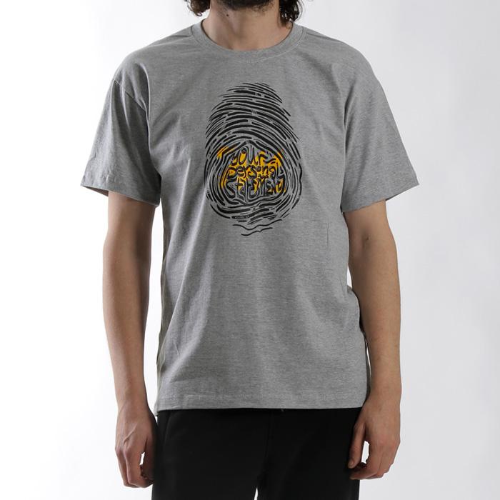 MANTRA Imprint T-shirt | Grey