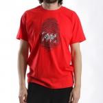 MANTRA Imprint T-shirt | Red