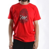MANTRA Imprint T-shirt | Red