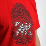 MANTRA ImPrint Tee in Red 2